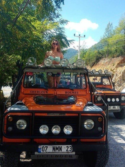 Джип сафари в Кемере