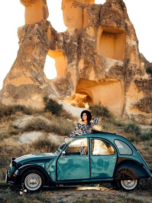 Классическом автомобиле в Каппадокии