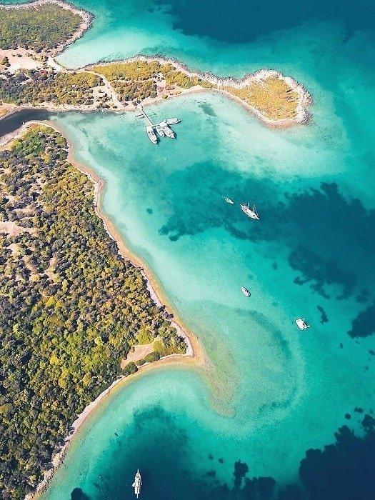Остров Клеопатры из Мармариса