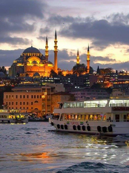 Экскурсия в Стамбул из Алании
