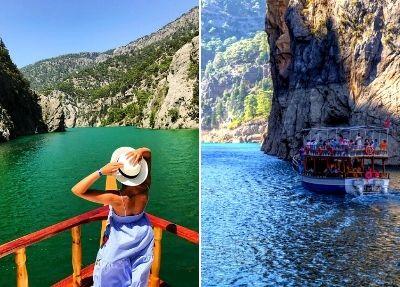 Экскурсия по Зелёному каньону из Анталии