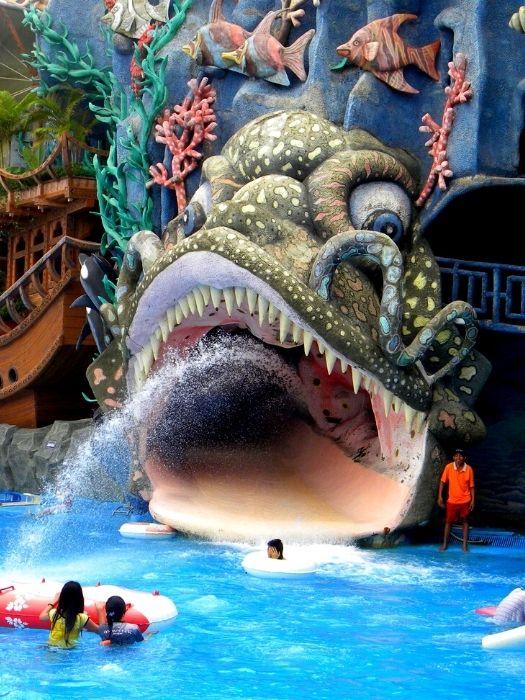 Аквапарк Water planet из Сиде