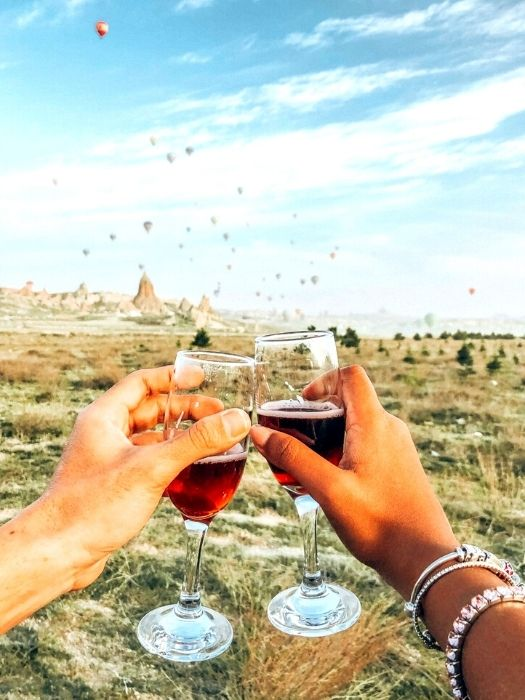Дегустация вин на закате в Каппадокии