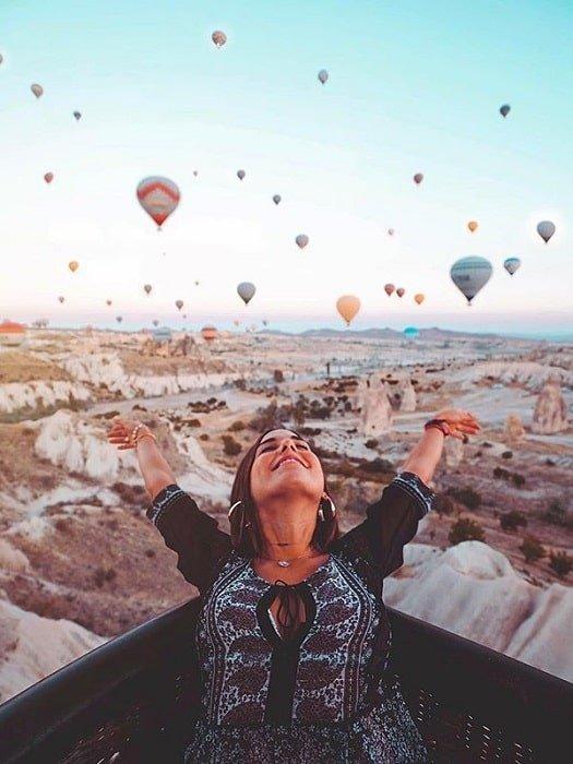 Приватный полёт на воздушном шаре в Каппадокии
