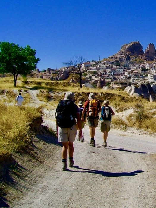 Прогулка по долинам Каппадокии
