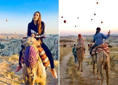 Сафари на верблюдах в Каппадокии