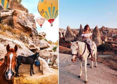 Сафари на лошадях в Каппадокии