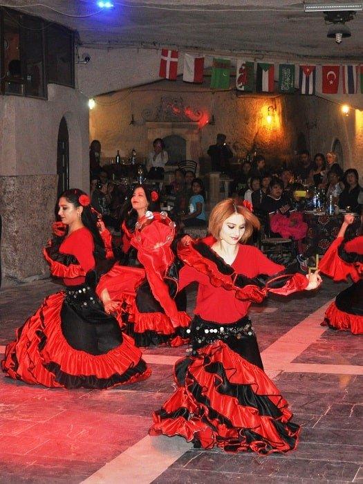 Турецкая ночь в Каппадокии