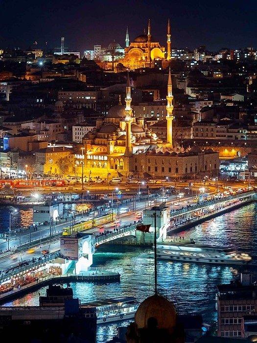 Экскурсия Огни Стамбула