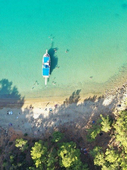 Морская прогулка в Сулуада из Анталии