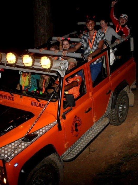 Джип сафари к горе Янарташ в Белеке
