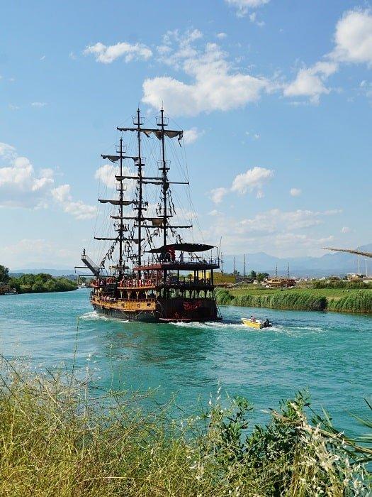 Круиз по реке Манавгат из Сиде
