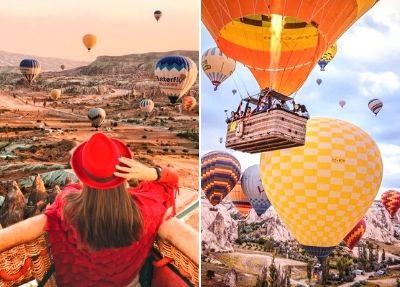 Полет на воздушном шаре в Каппадокии из Аланьи