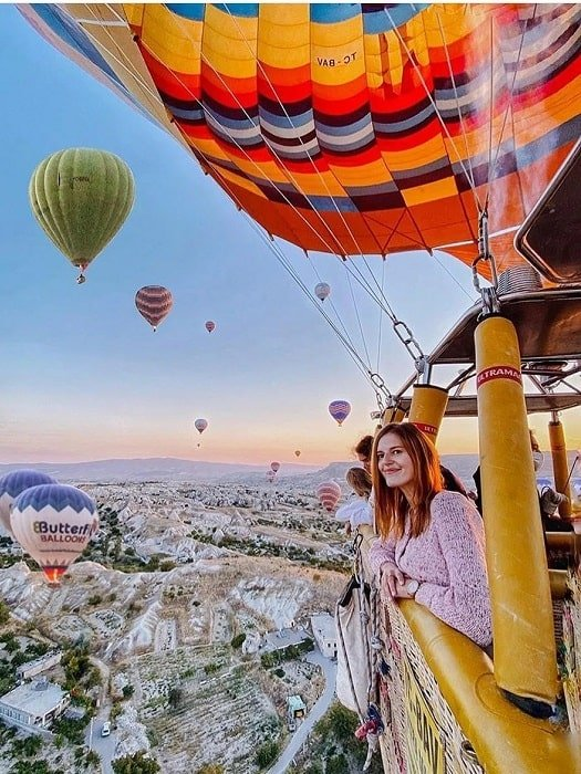 Полет на воздушном шаре в Каппадокии из Анталии