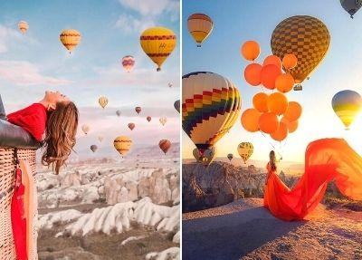 Полет на воздушном шаре в Каппадокии из Стамбула