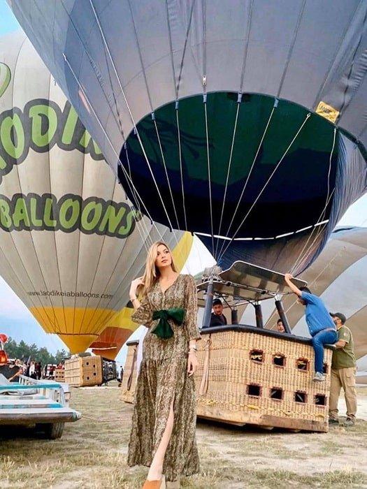 Полет на воздушном шаре в Памуккале из Анталии
