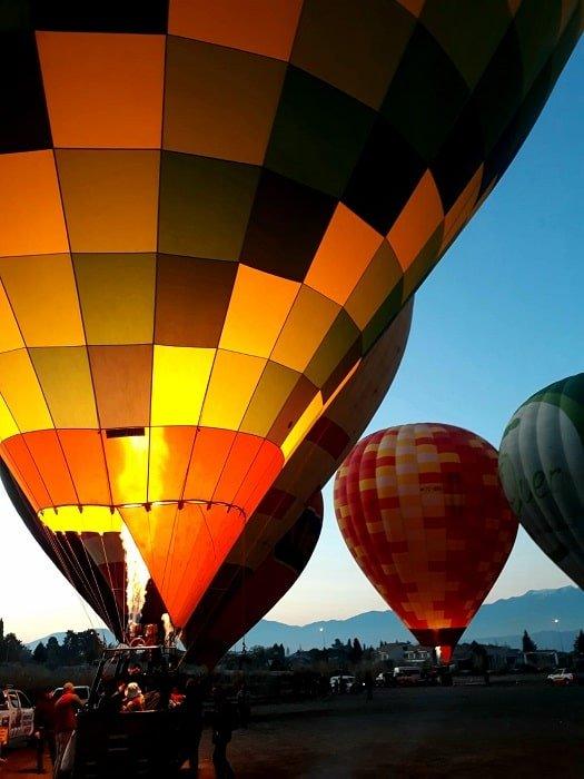 Полет на воздушном шаре в Памуккале из Кемера