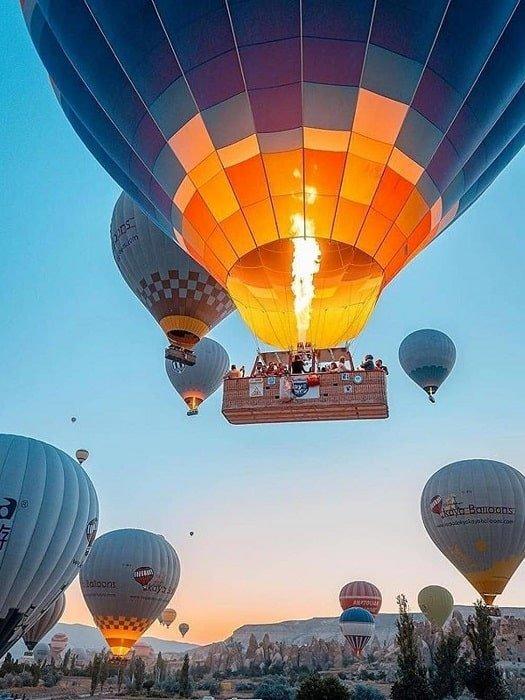 Полёт на воздушном шаре в Каппадокии из Белека