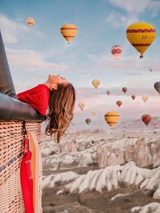 Полёт на воздушном шаре в Каппадокии из Кемера