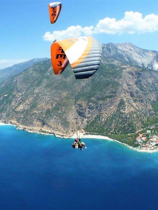 Полёт на параплане в Кемере