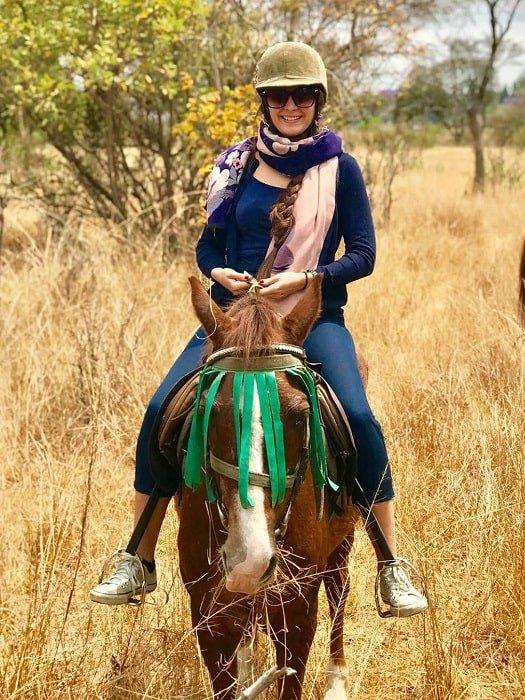 Сафари на лошадях в Анталии