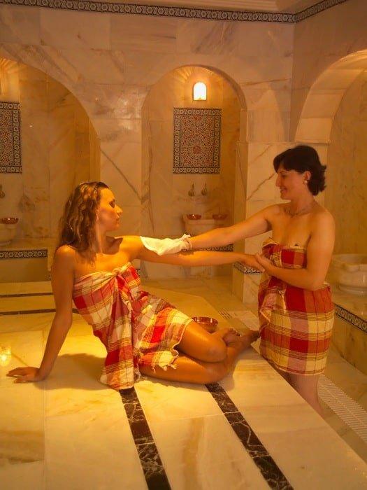 Турецкая баня в Белеке
