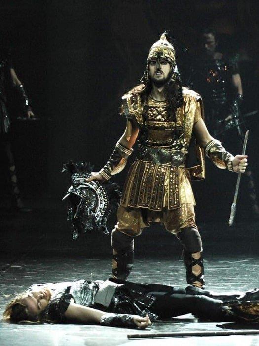 Шоу огни Анатолии Троя из Белека