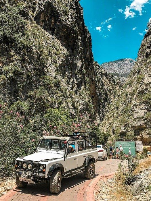 Экскурсия в Сападере каньон из Сиде