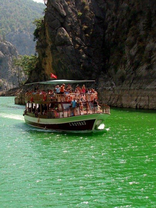 Экскурсия по Зеленому каньону из Аланьи