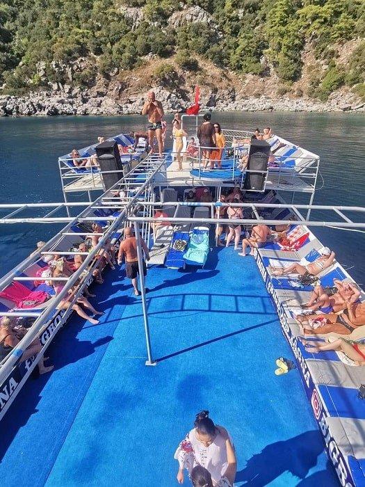 Яхта Big Boss в Мармарисе